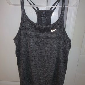 Nike racerback gray tank size XL great shape